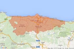 Search by map of Asturias