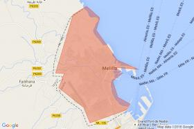 Search by map of Melilla